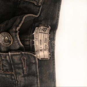 Free People Shorts - Free People distressed cut off jean shorts size 24